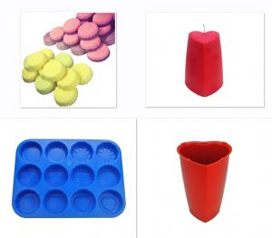 Candle Mould Set x 2, Wax Melt Tray, Swirl, Flower, Heart etc & Valentine Heart Shaped Mould. S7750